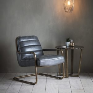 Soho Lounge Chair Pewter