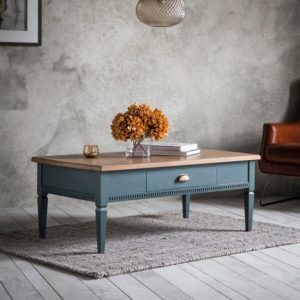 bronte coffee table in storm
