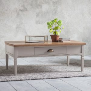 bronte coffee table in taupe