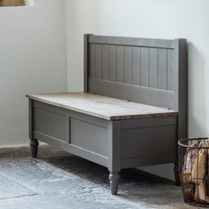 Cookham Hall Bench Grey