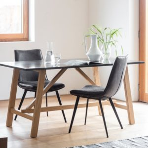 Brixton Burnished Dining Table