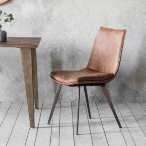 Hinks Chair Brown (2 pack)