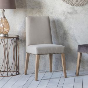 Rex Dining Chair Cement Linen