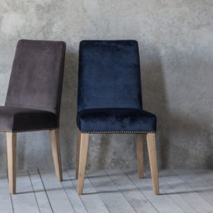 Rex Dining Chairs Atlantic Velvet