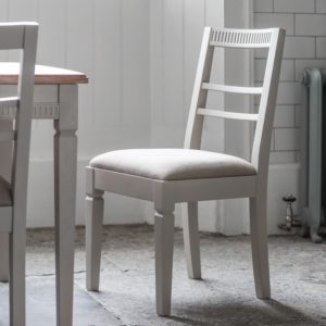 bronte dining chair taupe 2 pack