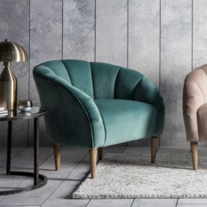 tulip chair mint velvet