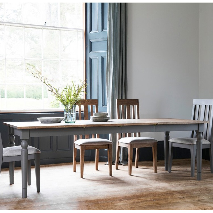 Cookham Extending Dining Table Grey My Vintage Home