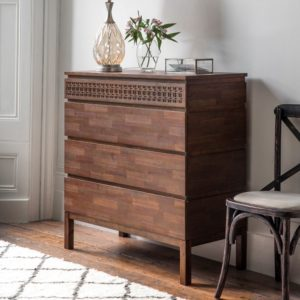 boho retreat 4 drawer chest