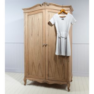 chic 2 door wardrobe weatherd
