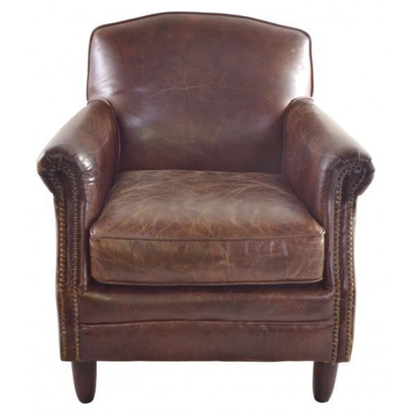 vintage leather chair 1