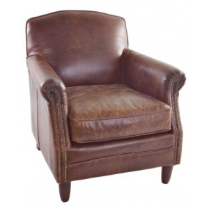 vintage-leather-studded-front-leather-chair