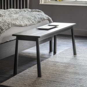 wycombe dining bench black