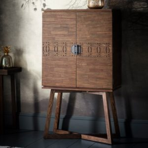 boho retreat cocktail cabinet