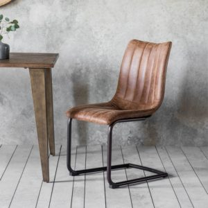 edington brown chair