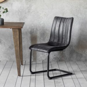 edington grey chair