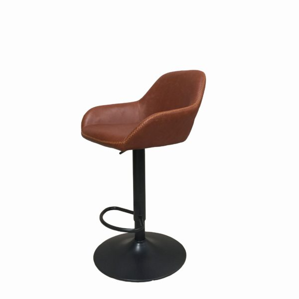 gas lift barstool tan 3