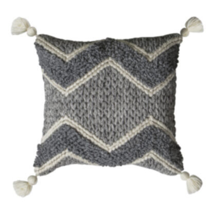 Habana Cushion Grey Cream