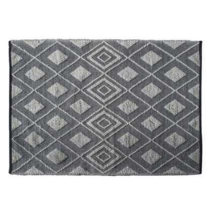 Freya Rug Black Natural Medium