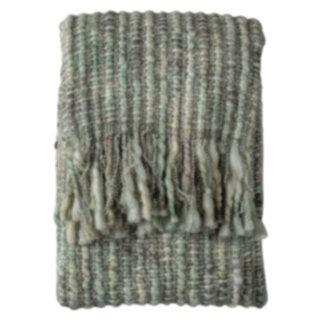 Noella Space Dyed Throw Sage