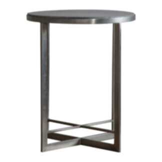 Necton Side Table Silver