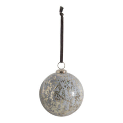 Westrey Bauble Mottled Large (2pk)