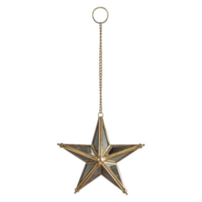 Vienna Hanging Mirrored Star Small