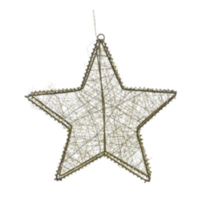 Orion 30 LED Star Gold Small