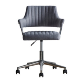 Mcintyre Swivel Chair Charcoal