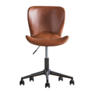 Mendel Swivel Chair Brown