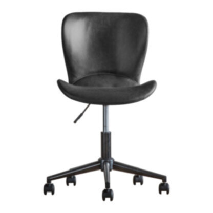Mendel Swivel Chair Charcoal
