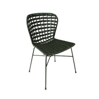 Bogart Loom Chair - Black