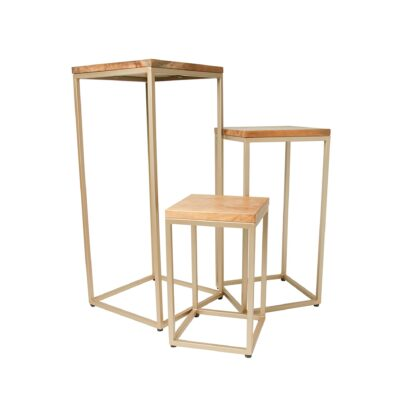 Stacking Plant stands (Set of 3)