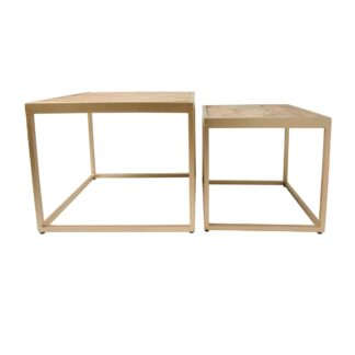 New Island Set of 2 coffee Tables