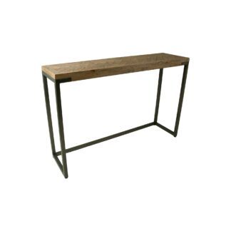 Chevron Console Table