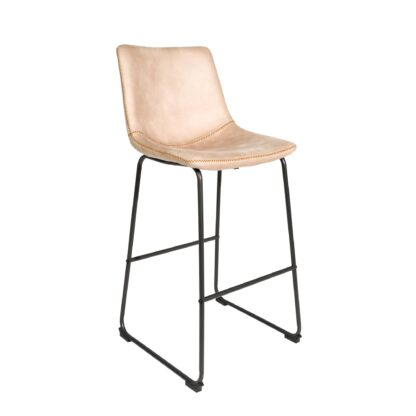 Cooper Bar Stool - Oyster Moleskin SET OF 2