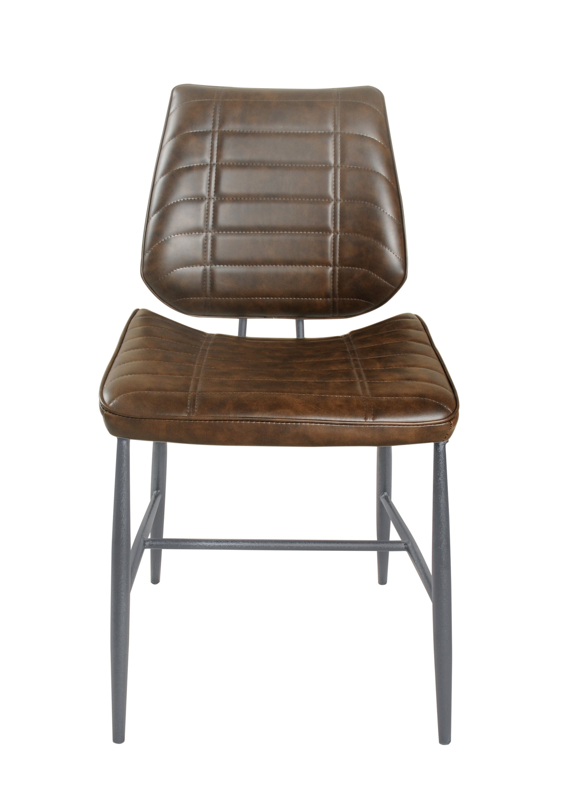 Cortina Vegan Leather Chair Chestnut Vintage SET OF 2