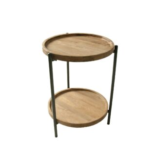 Delamere Bedside Table with Shelf