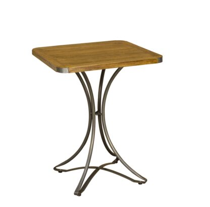 RE-Engineered Square Bar Table 60x60