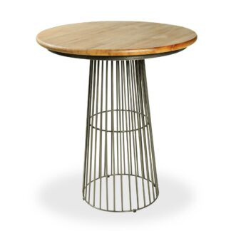 Industrial Style Birdcage Bar Table