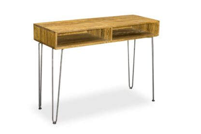 Retro Hairpin Console Table