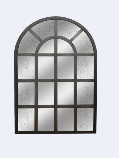 RE-Engineered Arch Mirror - Lightly Distressed Glass