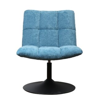 Mantis Swivel Chair - Chenille Ocean