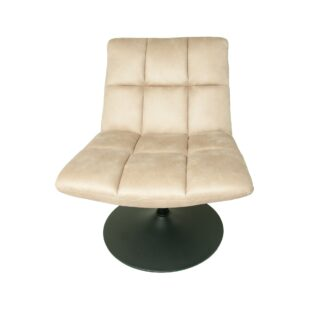 Mantis Swivel Chair - Moleskin Oyster