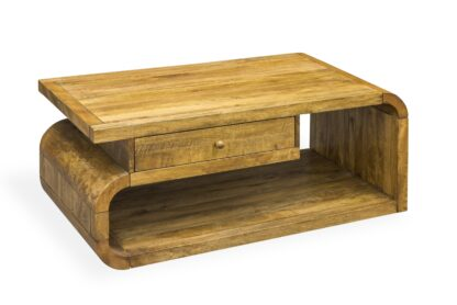 Maybury Mango Lounge Coffee Table With Drawer