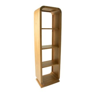 Lounge Oak Open Back Shelf Unit 3 Shelves