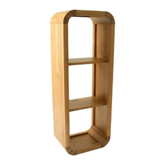 Lounge Oak Petite 3 Hole Shelf Unit
