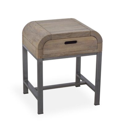Radius Side Table w Drawer