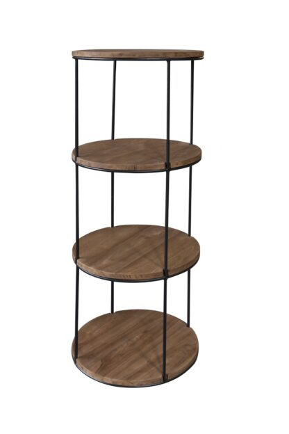 Circular Shelves - 4 Tier