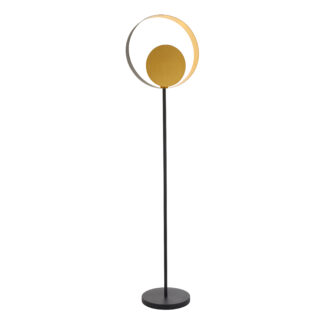 Cal Floor Lamp Brass