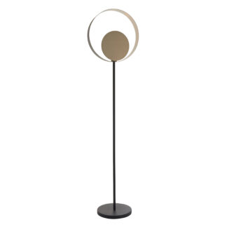 Cal Floor Lamp Chrome